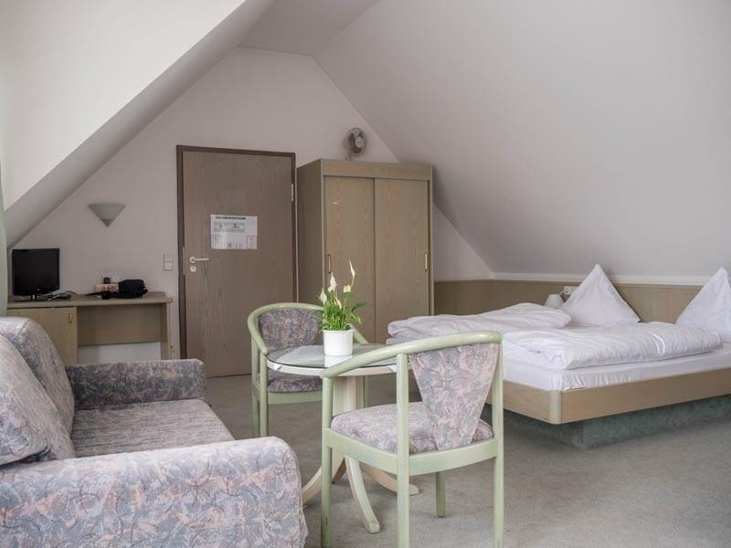 Hotel Krauthof Dreibettzimmer