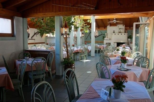 Restaurant Krauthof Ludwigsburg Wintergarten mit Kamin